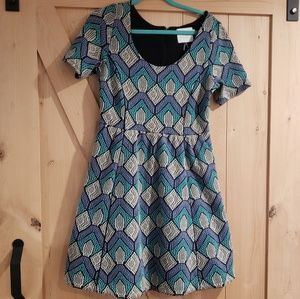Anthro HD in Paris Flouncy Dress With Pockets